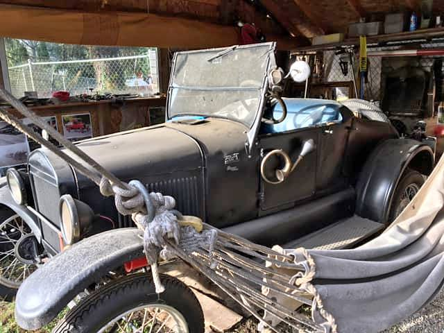 Rough Start: 1926 Ford Model T Roadster With A Rotary…What?