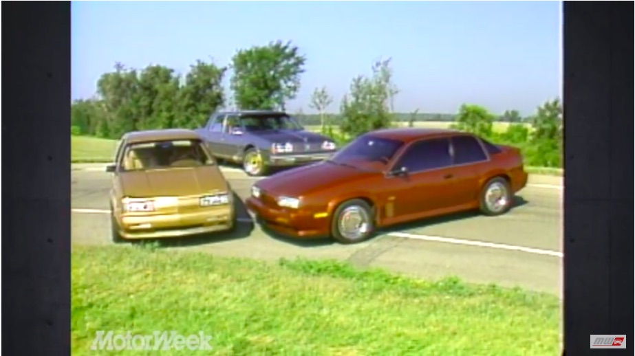 1980s Oldsmobile Prototype Video: Check Out These Quad Four Powered Rolling Experiments – One's Turbocharged!