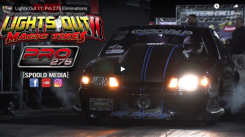 Here's Every Round Of Pro275 Eliminations From Lights Out 11 At South Georgia Motorsports Park!