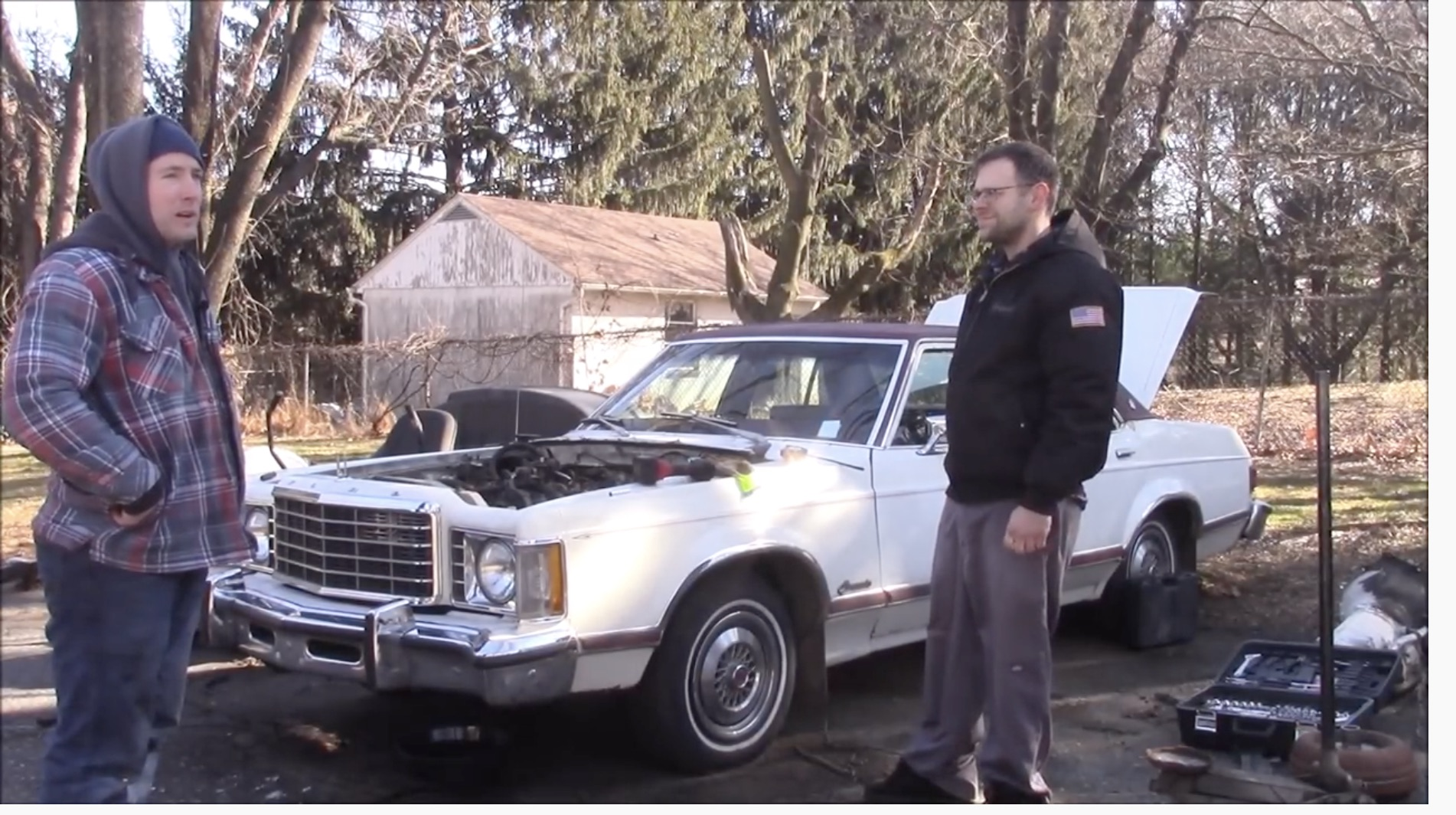 Throwing Good Towards Bad: Stuffing A Barra Six Into A 1976 Ford Granada