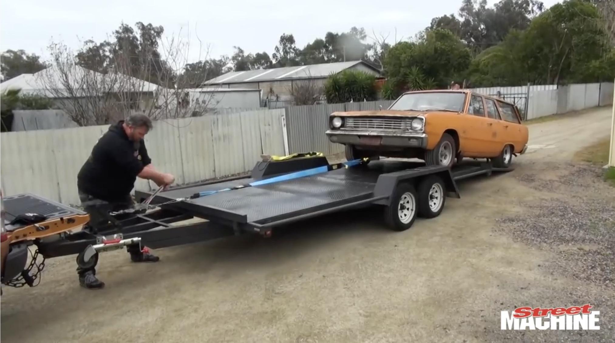 From Rust To Righetous: Street Machine's Rustoleum Valiant Wagon Project Kicks Off!