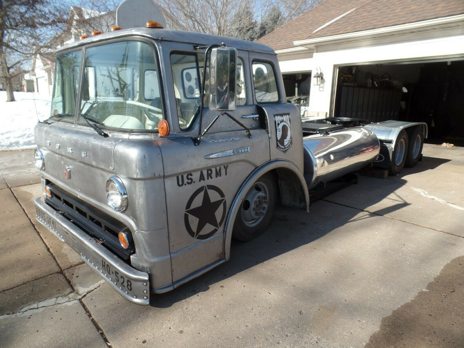 Buy A Trailer…And Haul It Around With This 1961 Ford C-700!