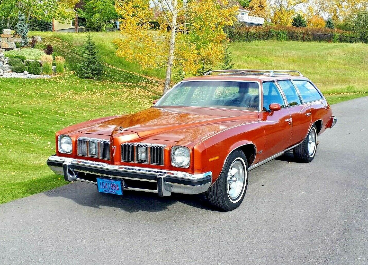 Money No Object: 1975 Pontiac Grand LeMans Safari – Do You Believe In Miracles?