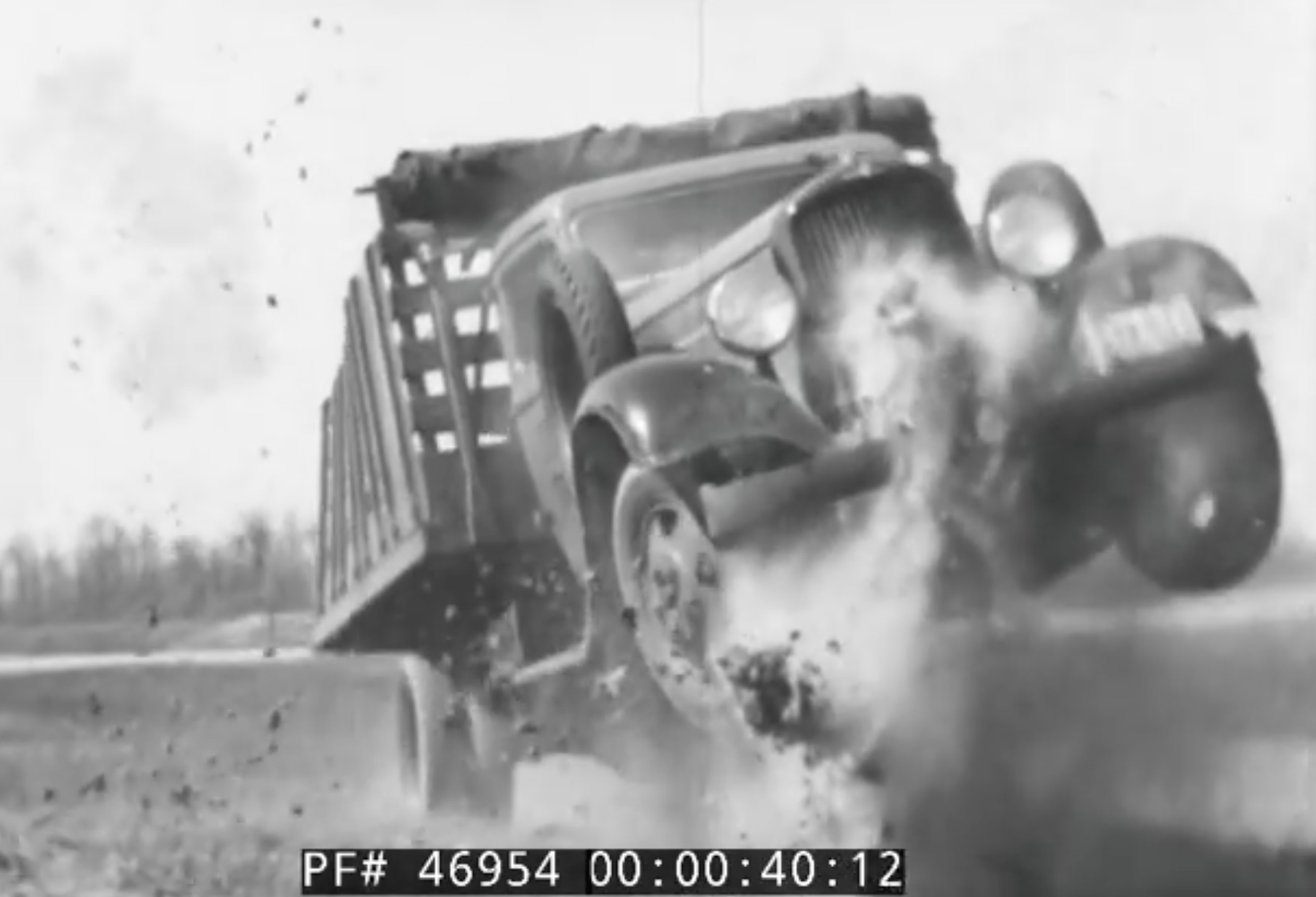Historical Footage: Promoting The Durability Of Pre-War Dodge Trucks
