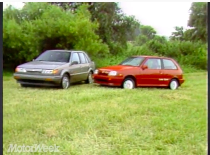 Turbo (Not So) Twins: These Late 1980s Odd-Ball GM Imports, The Chevy Sprint Turbo and Spectrum Turbo Are Weirdly Fun