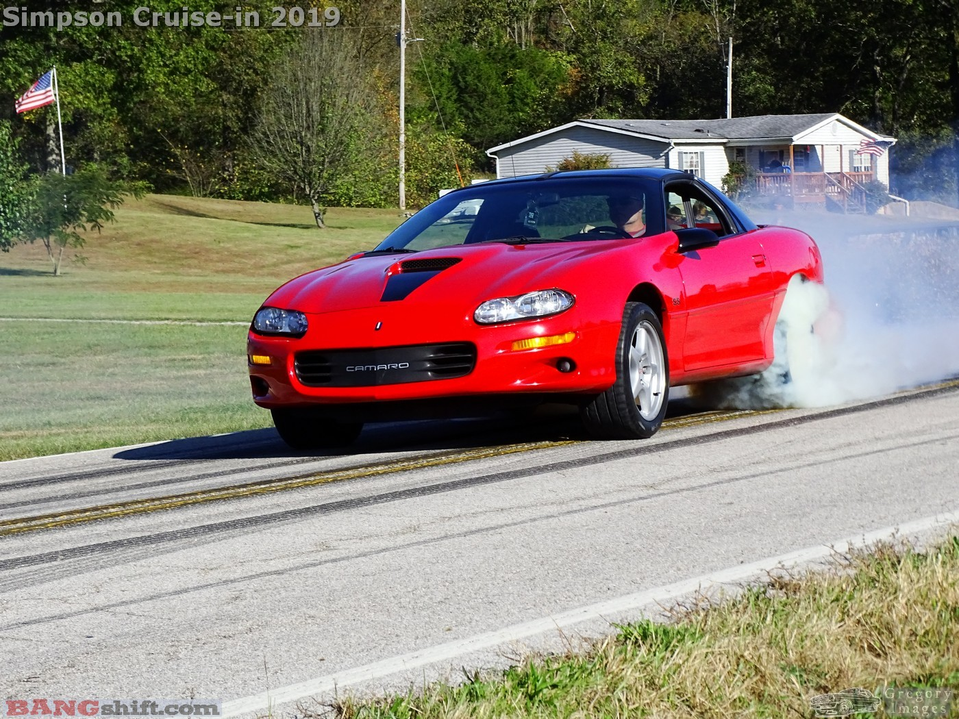 Simpson Family Cruise Photo Coverage: Cool Cars, Big Burnouts, and Fun For The Whole Family