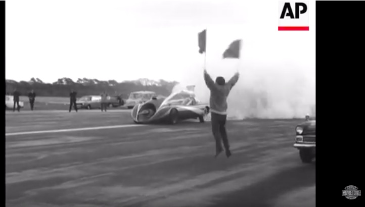 Watch Art Arfons Blast An English Runway At 275mph In This 1970 News Clip – Awesome!