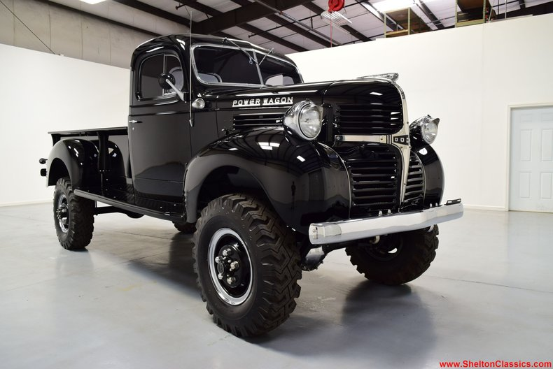 Beautiful Beast: This Immaculately Restored 1947 Dodge Power Wagon 1-Ton Truck Is Spectacular