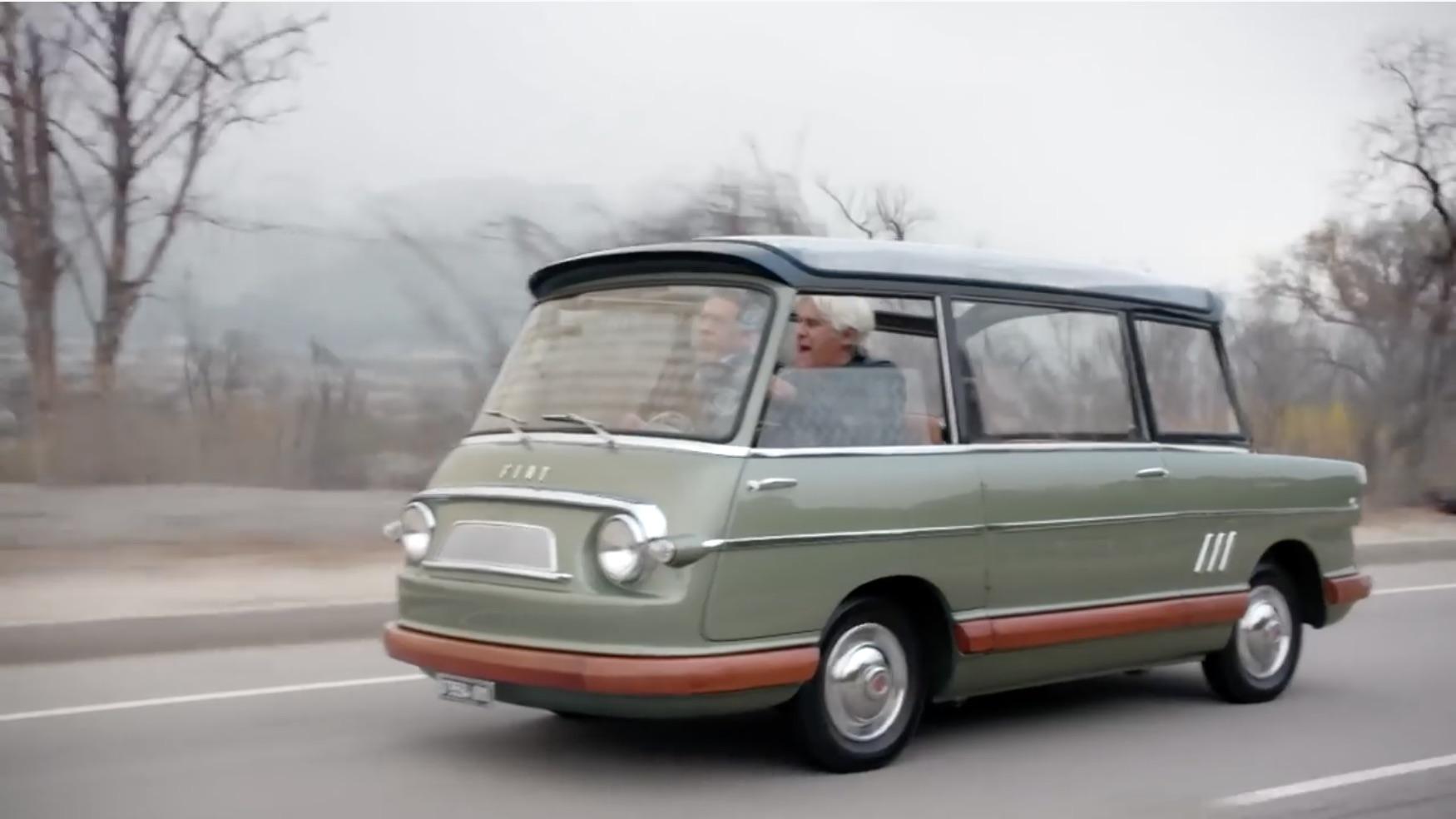 Minivan Genesis? Jay Leno Checks Out The Two Remaining 1958 Fiat 600 Multipla Mirafiori