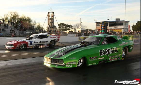 Watch The March Meet Funny Car Eliminations Right Here! Nitro Action Baby!