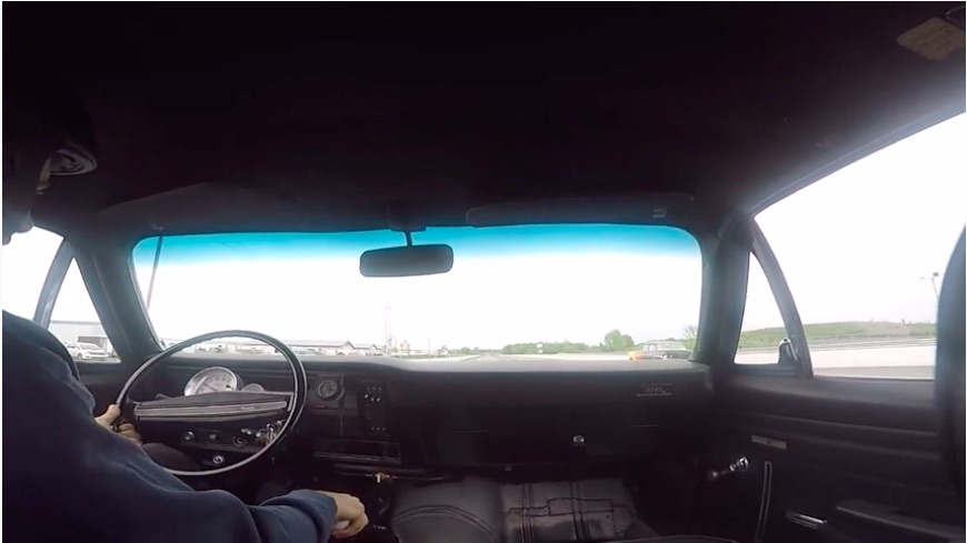 American Powertrain Parting Shift: Ride Down The Strip In This 327ci Chevy Powered, Muncie M-22 Roaring Nova!