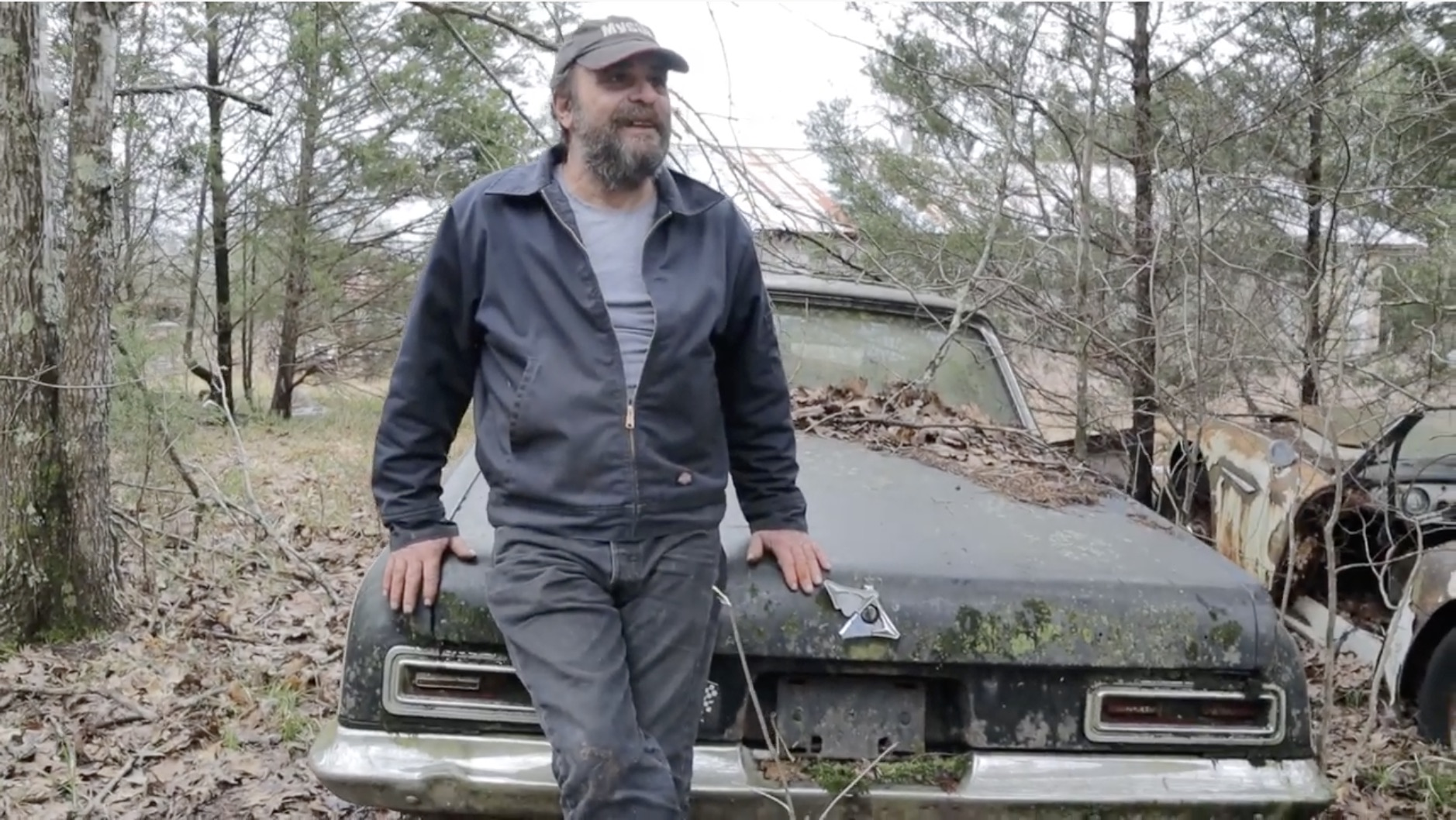 Treasure Hunting: Walking In The Woods For A Super-Stock Dodge
