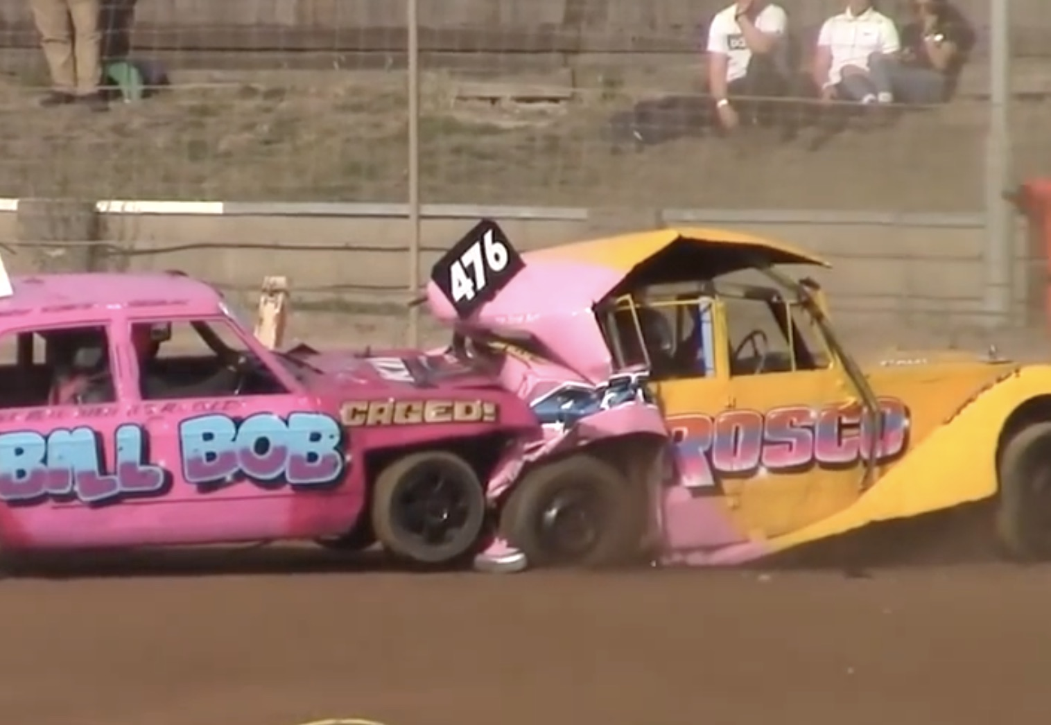 Apocalypse Driving Lessons: Brutal Banger Racing Crashes From The U.K.