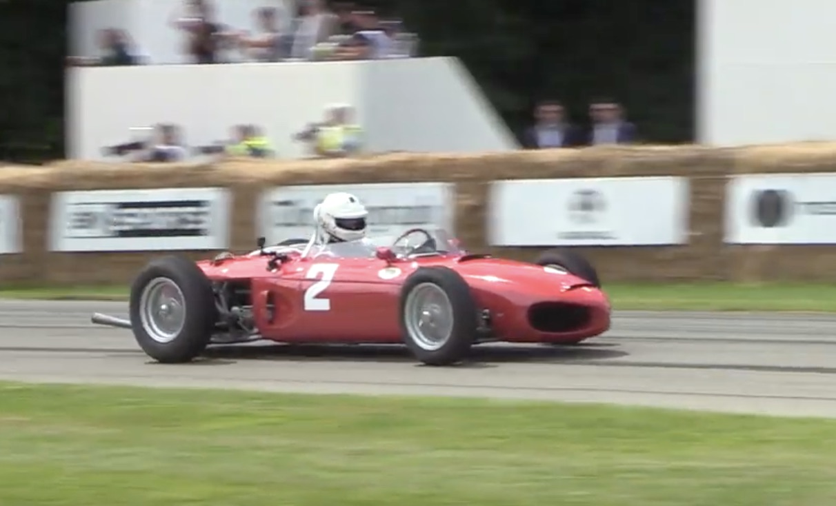 """Morning Symphony: 1961 Ferrari 156 F1 """"Sharknose"""" At Imola And Goodwood"""