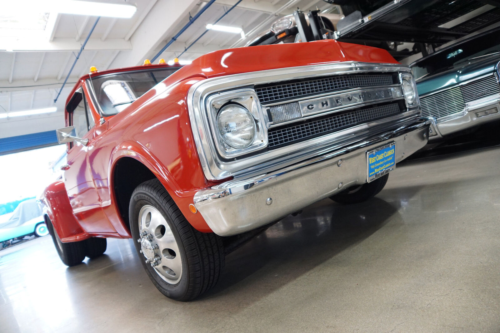 Short and Stout: This 1969 Chevy Truck Is A Short-Bed, Step-Side Dually With A Big Block!