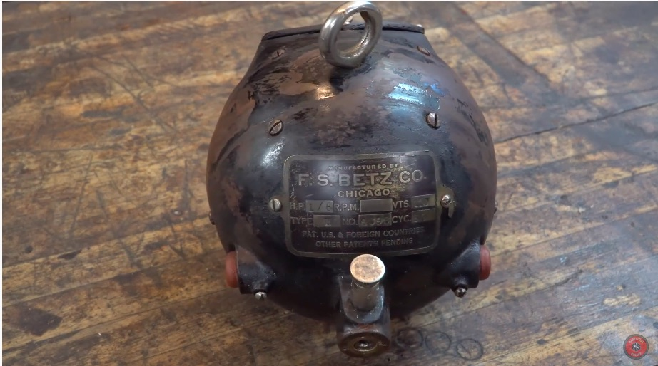 Gearhead Video: The Restoration Of This Weirdly Awesome 100 Year Old Ball Shaped Electric Motor Rules