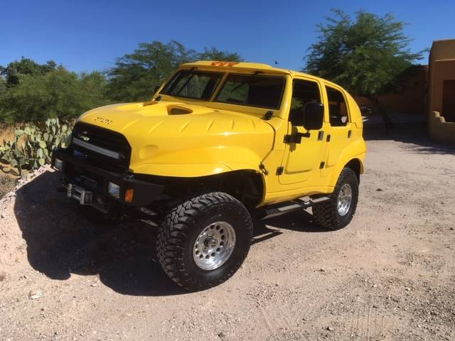 New One On Us: Ever Heard Of A 1987 Chevy Grunt Before? This One Is For Sale and It Is Weird