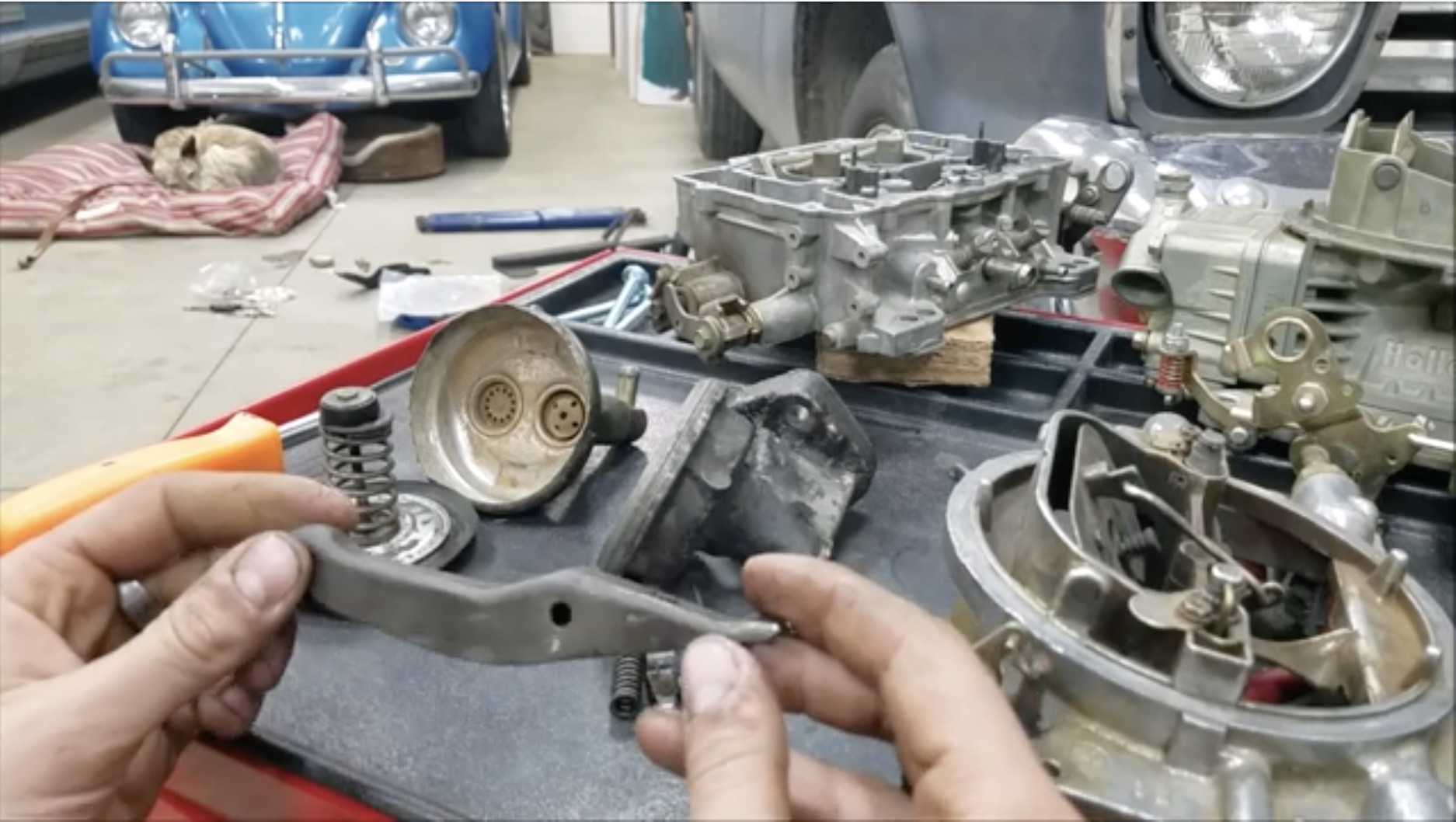 Dissection Time: The Mechanical Fuel Pump – Anvil-Simple In Detail!