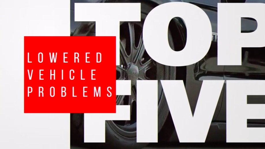 Great Video: RideTech Tells You How To Avoid The Top Five Problems That Come Into Play When Lowering A Vehicle