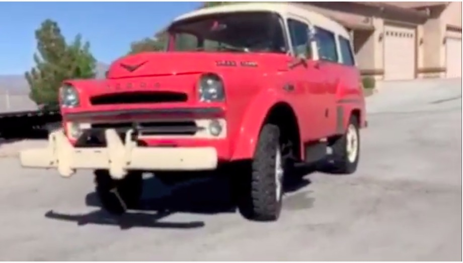 A Mighty Unicorn: This 1957 Dodge Town Wagon Power Wagon Is Incredible! 315ci Hemi, Factory Power Steering