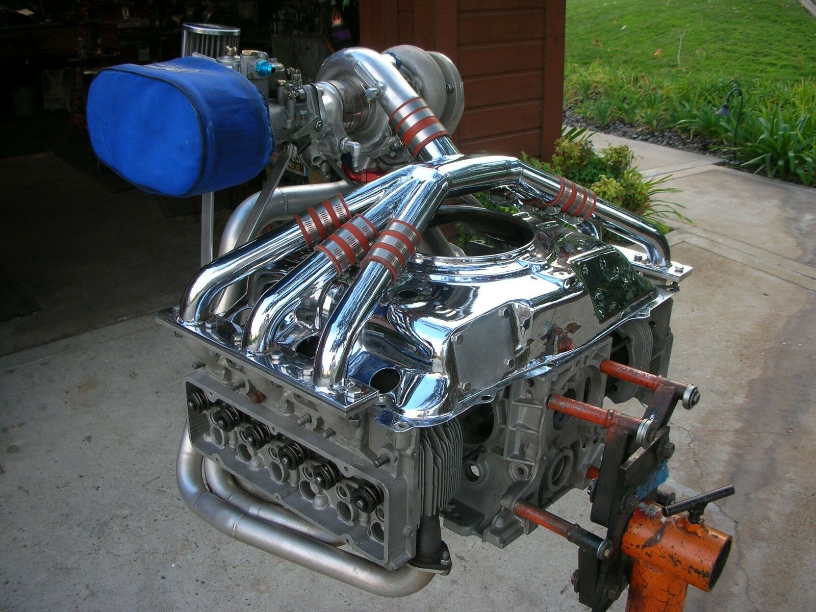 Almost All There Corvair: This Turbocharged Corvair Flat Six Is A Neat Engine But The Buyer Comes Up A Little Short On Parts
