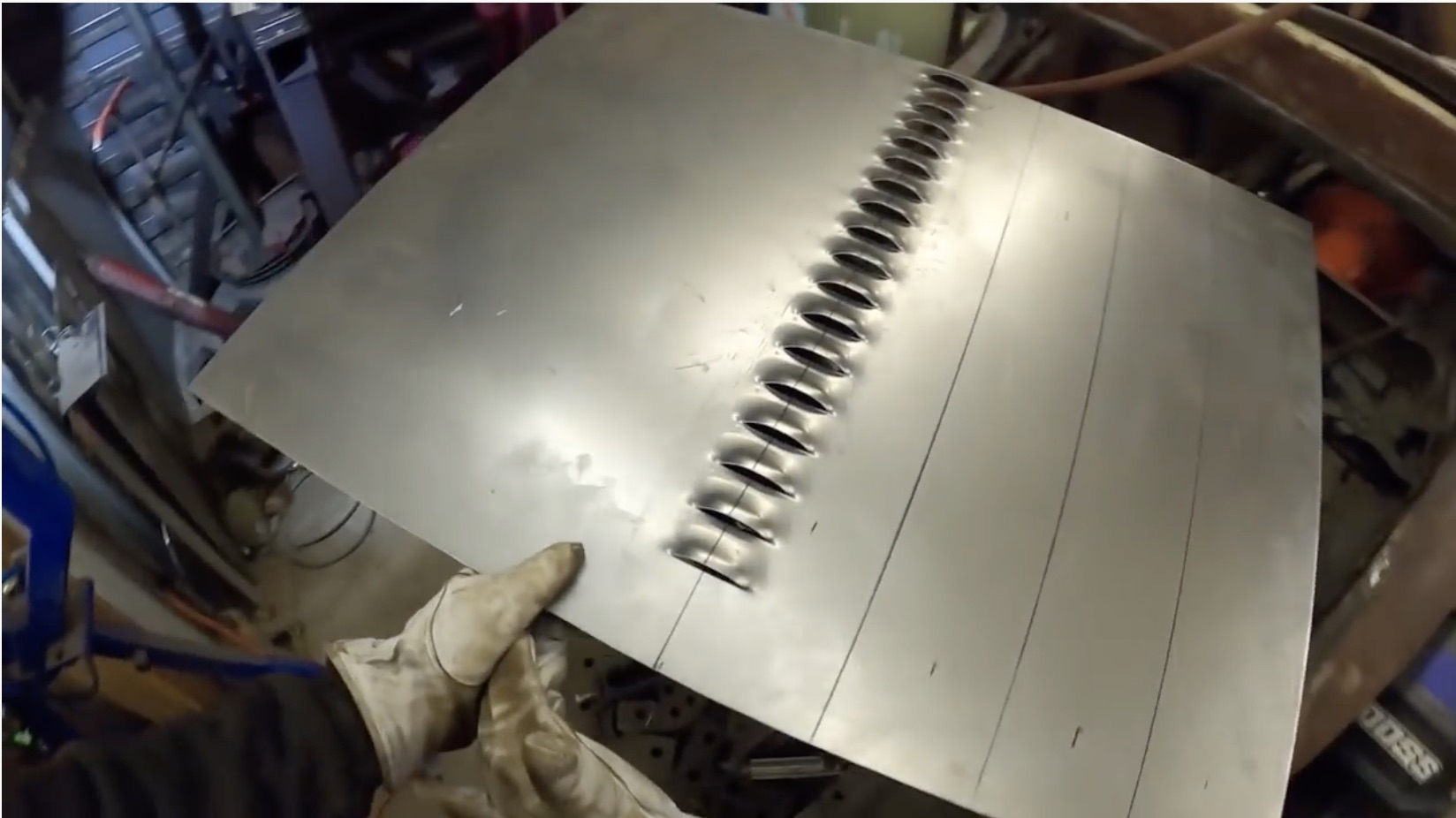 Best of 2020: Louvers! Watch As This Model T Trunklid Gets Vented!