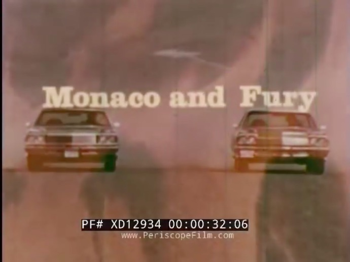 Cruise Ships: This Film Comparing The Dodge Monaco, Plymouth Fury, Ford Galaxy, and Chevy Impala Is Great