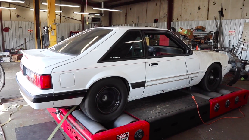 Basically Brutal: Watch This Paxton Supercharged, Holley EFI Equipped, Stock Bottom End 302 Mustang Make Power On The Dyno