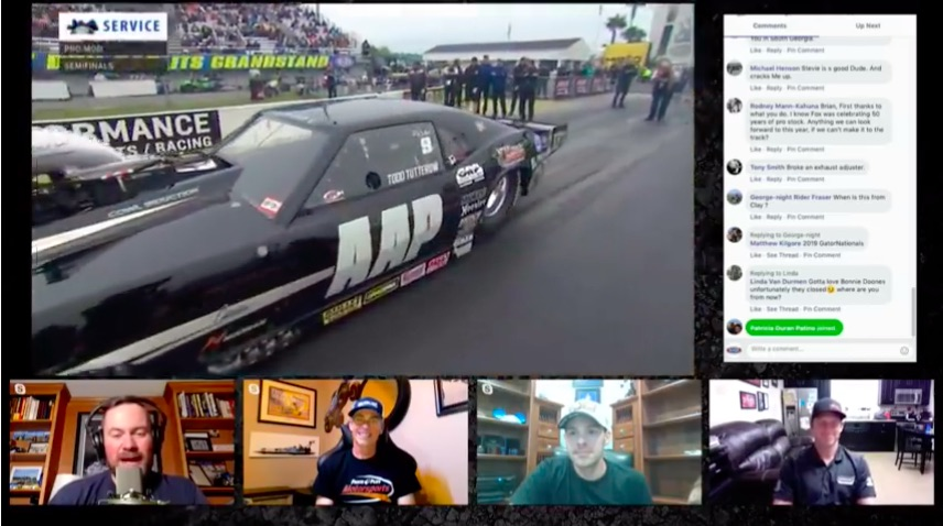 NHRA Rewind LIVE: Relive The 2019 NHRA Amalie Oil Gatornationals With Stevie Fast Jackson, Clay Millican, and Andrew Hines!
