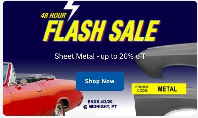 Real Deal Steel: OPGI Is Having A Flash Sale And That Means Good Sheetmetal Cheap! Save Up To 20% Until Midnight PST!