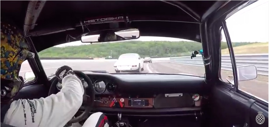 This Is Road Racing: Watch Two Classic Porsches Slice, Dice, and Battle Within Inches On A Road Course In France