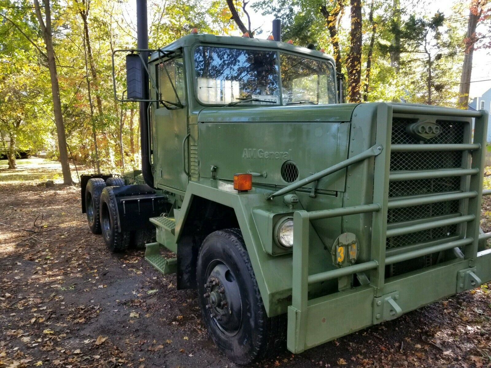 Straight Pipes and Olive Drab: This Early 1980s AM General Built M-915 A1 Rig Is Awesome And We Want It
