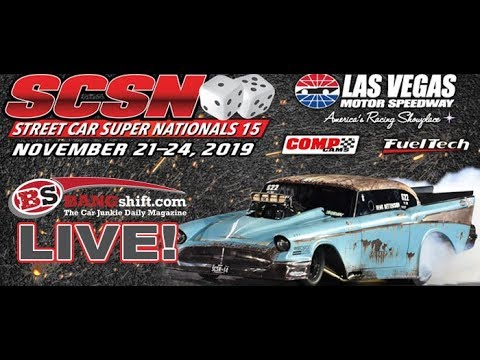 Watch The Street Car Super Nationals Las Vegas Encore Presentation Right Here!