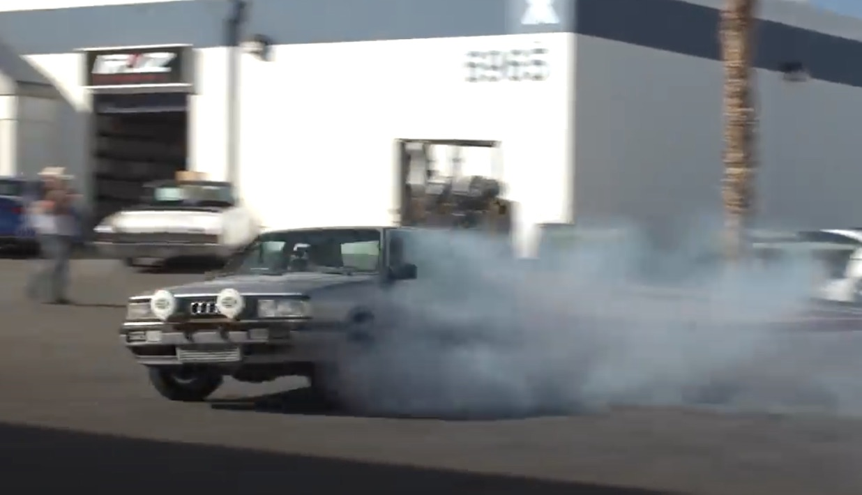 Ring This: Monster AWD Audi Action That Was…Left In The File Cabinet?!
