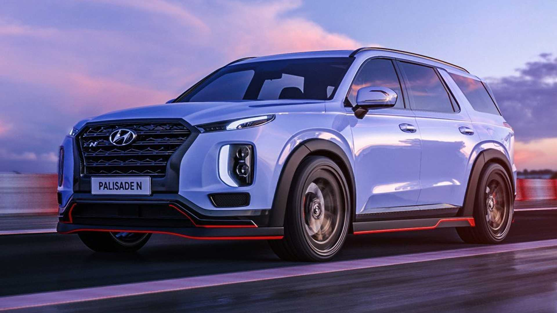 The April Fool's Joke That Needs To Exist? Hyundai Teasing A Palisade N Seems Like A Good Idea