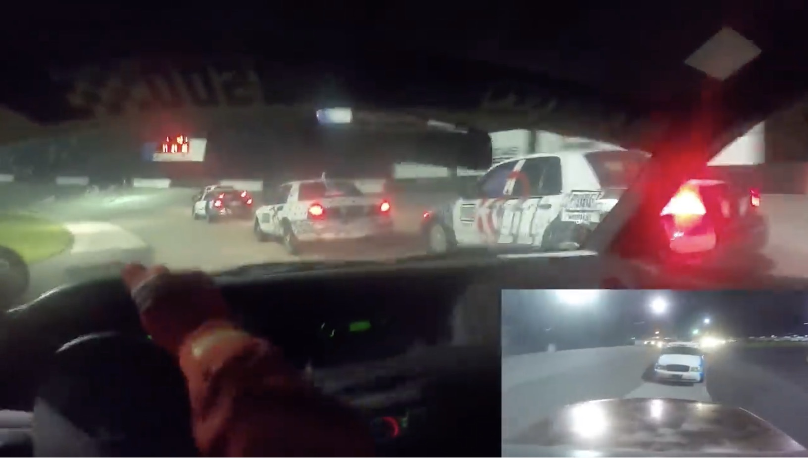 Stock Cars Racing: A Driver's Eye View Of The Freedom 500 Invitational Race!