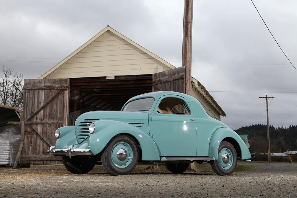 This Willys Coupe Was Bought New And Kept In The Family. This Survivor Is Now Fully Restored And Awesome