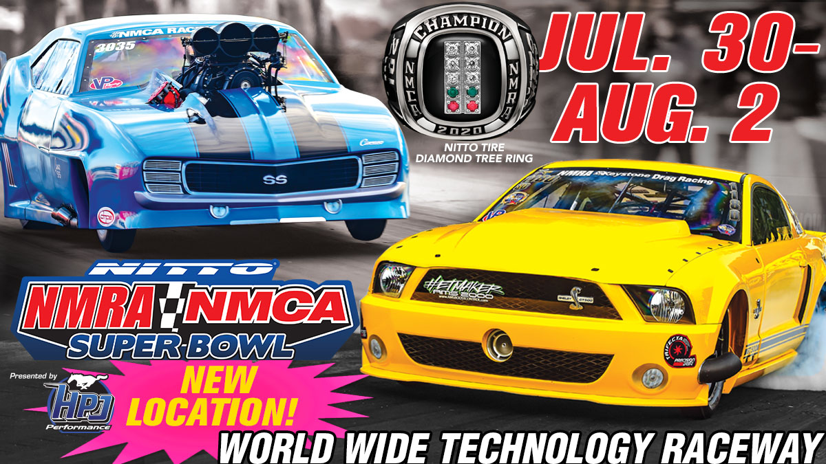 Big News: Nitto Tire NMRA/NMCA Super Bowl of Street-Legal Drag Racing Moves to St. Louis!