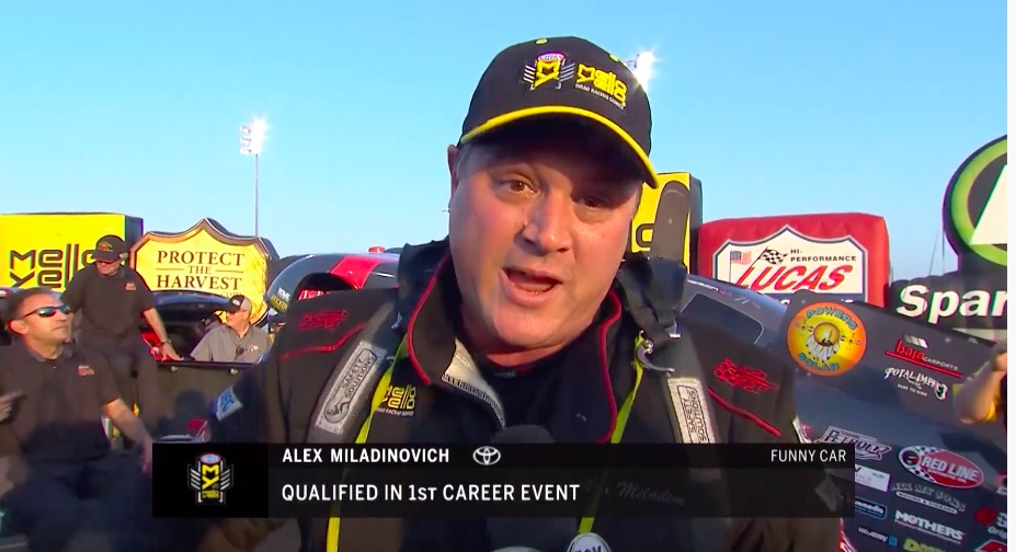 The Rookie: A Conversation With Nitro Funny Car Racer Alex Miladinovich – How To Race A Funny Car On A Regular Guy Budget