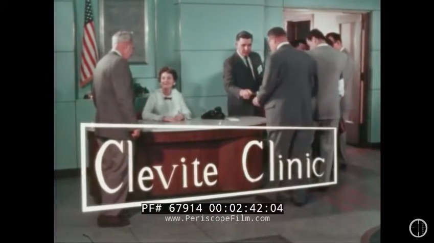 Clevite Clinic Is An Awesome 1950s Film About Bearings and Engines – It's Old But Awesomely Informative!