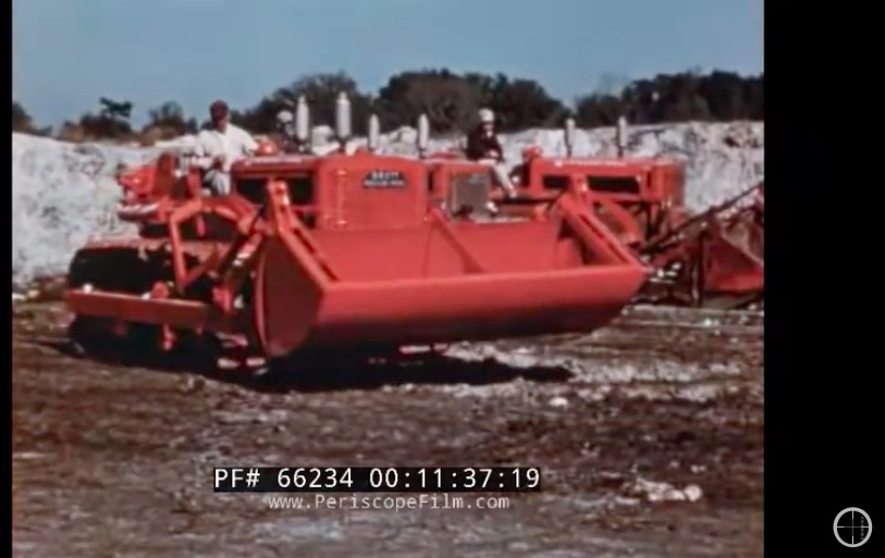 Classic Equipment Video: Watch This 1950s International Harvester TD-9 Video That Concentrates On Landfill Work
