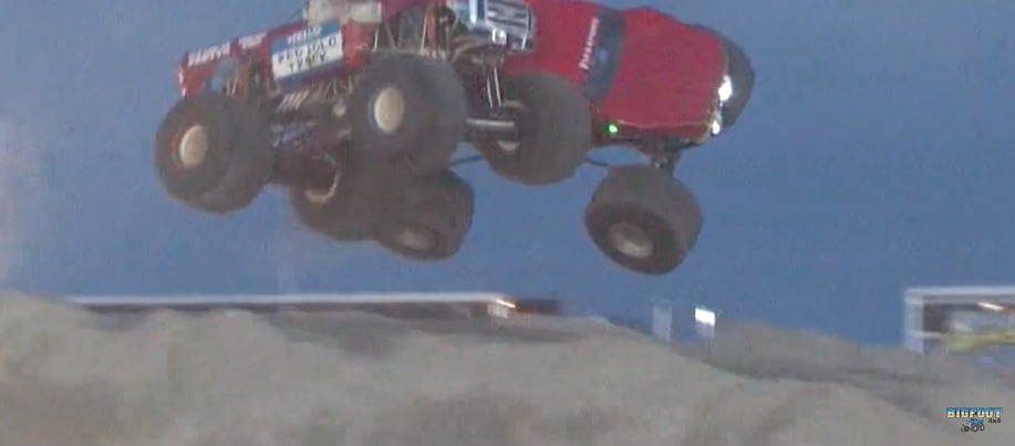 Monster Truck Mid-Air Collision: This Is One Of The Wildest Things We Have Ever Seen! 10 Tons Of Wreckage