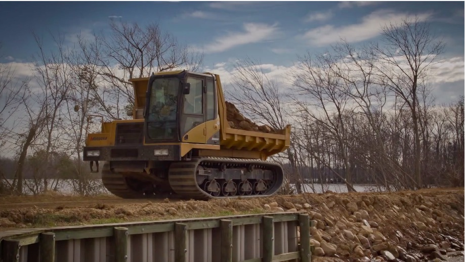 American Made Video: Watch To See A Morooka Tracked Dump Truck Get Built From Scratch – This Rules!