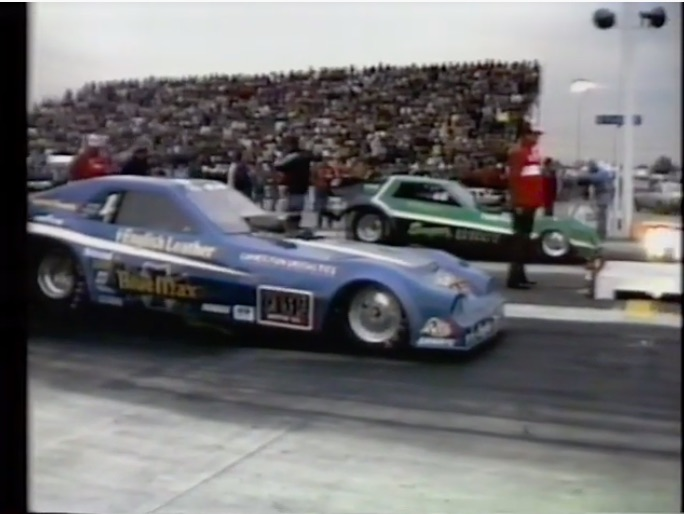 Damned Yankees: Watch The Semis and Finals Of The 1982 NHRA Winternationals From The British Show World of Sport!