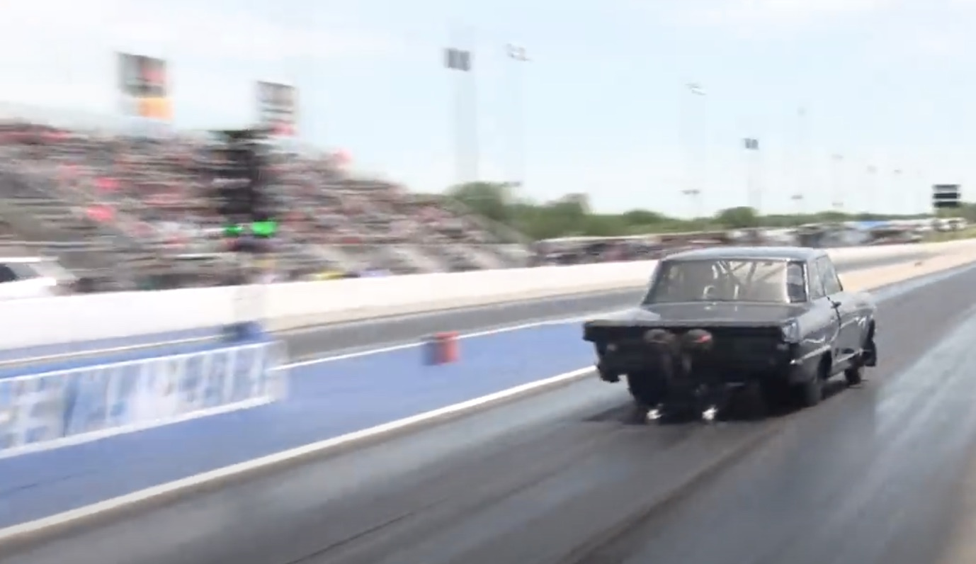 Laying Down Laps: Daddy Dave Working Through Pro Street At The Throwdown In T-Town