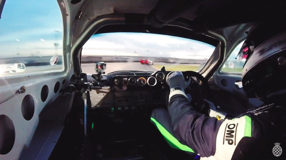 V-12 Fun: Ride Along In An Awesome Jaguar XJR-5 Road Racer At Daytona, This Thing Hauls!
