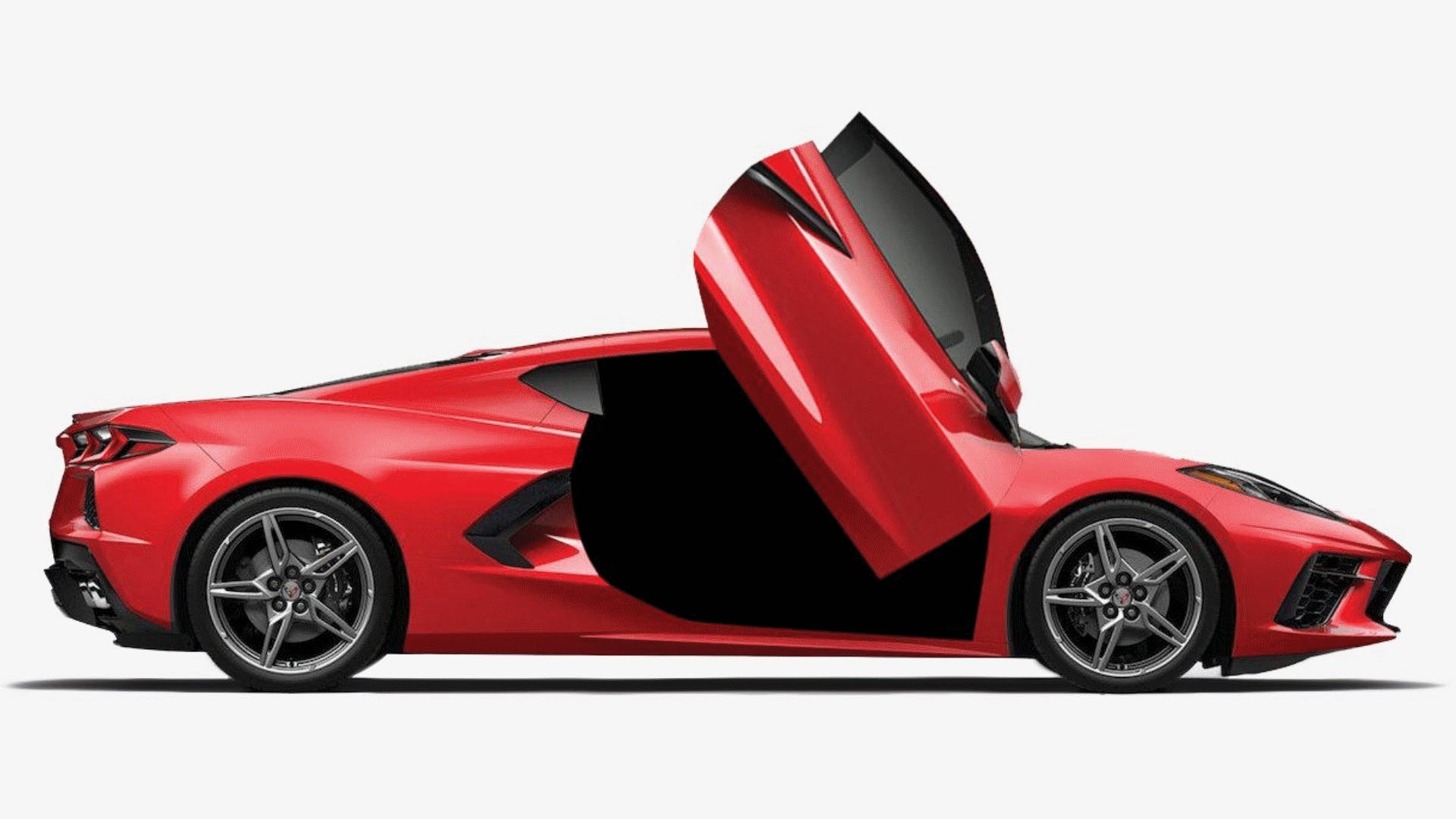Lambo Doors On A C8? Not Just No….HELL NO – Just Because You Can Does Not Mean That You Should