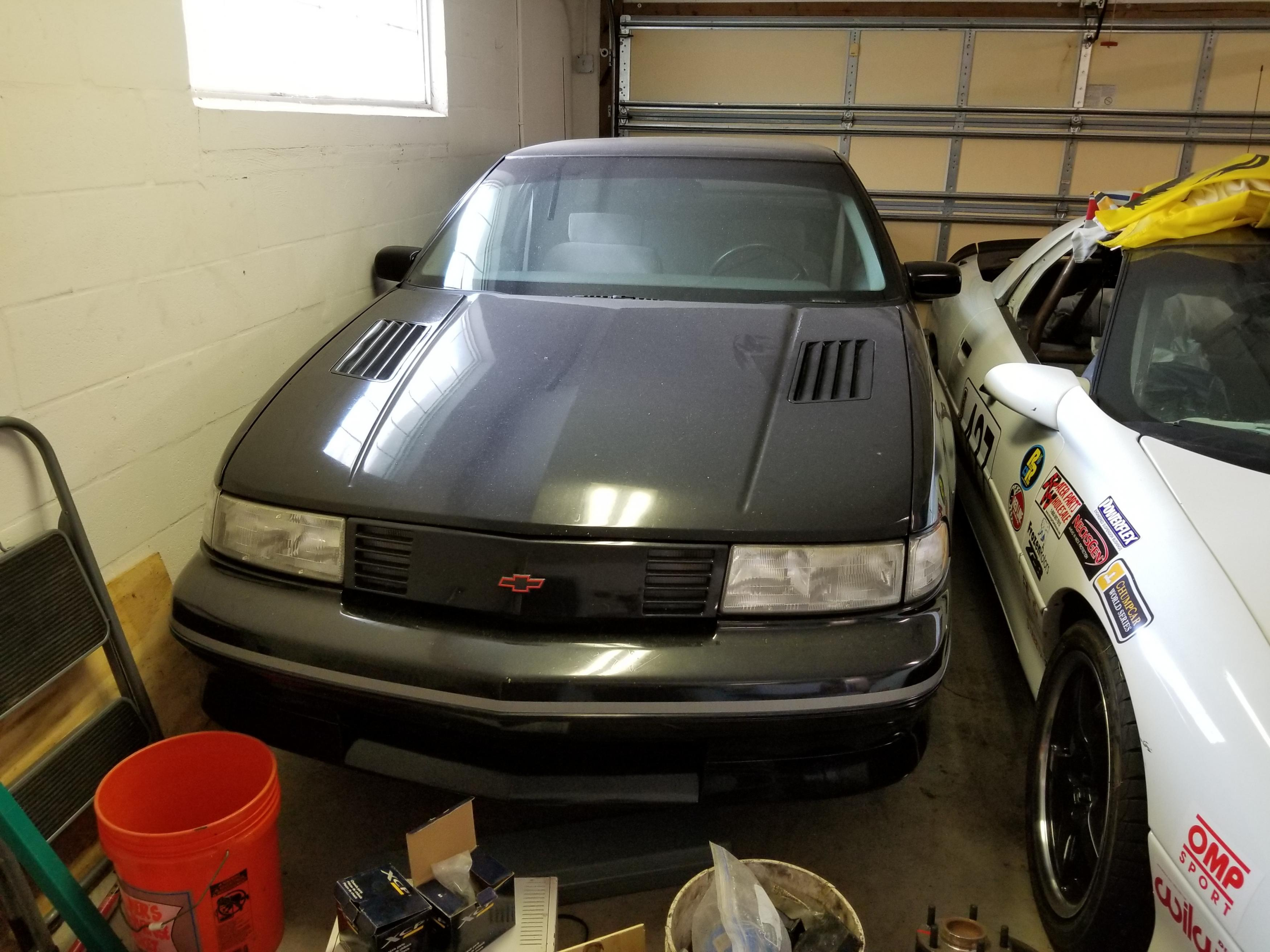 BangShift Project Files: 1991 Chevrolet Lumina Z34 Preparing For An LS4 Swap