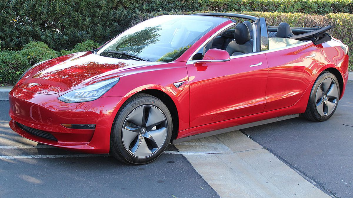 Always Wanted A Tesla Model 3 Convertible That Didn't Exist? Now It Does – Check This Thing Out