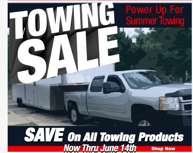 CPG Nation Towing Sale: Get The Parts You Need To Make Your Hauling This Summer A Breeze